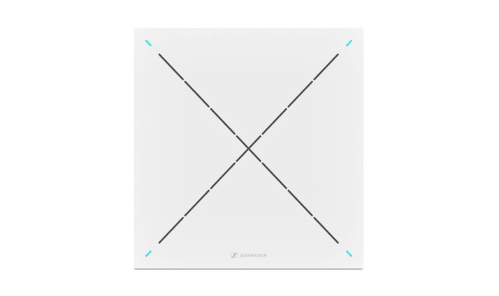 Head-on Image representing the Sennheiser Team Connect Ceiling Tile 2