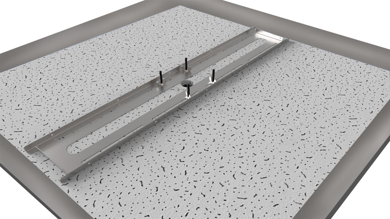 Brio Content Kit ceiling tile brackets