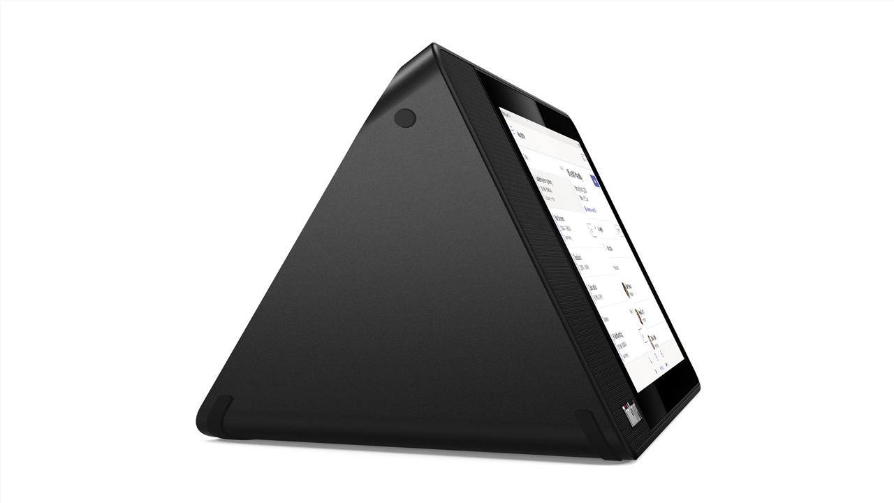 Lenovo ThinkSmart View from the side