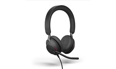 Shop the Evolve2 40 stereo USB-C black Headset