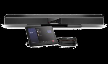 Bekijk de Videobar VB1 with Elite Slice G2-Audio Ready for small spaces Teams-ruimten