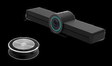 Bekijk de EXPAND Vision 3T Teams conferencing system including a video collaboration bar and speakerphone Teams-ruimten