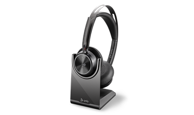 Shop the Voyager Focus 2 UC USB A, with charge stand Headset