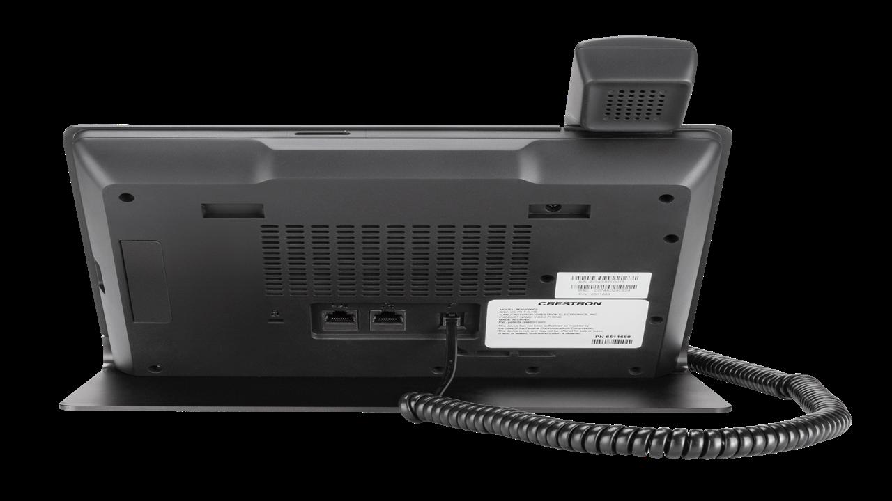 Crestron 6510537 Flex VoIP Desk Phone With Tilt Screen for Microsoft Teams for sale online