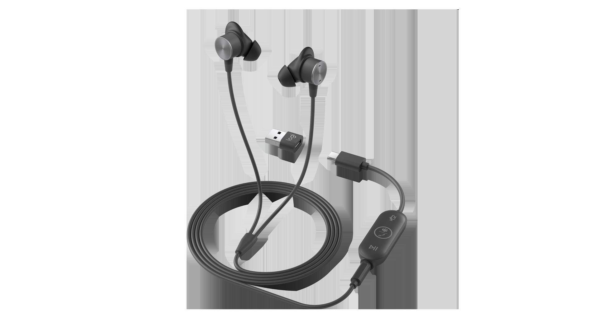 Logitech - Zone Wired Earbuds