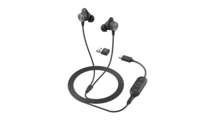 Shop the Logitech - Zone Wired Earbuds Headset