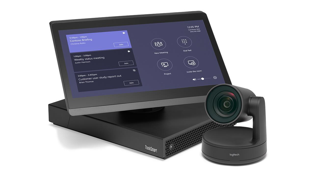 ThinkSmart Hub 500 for Medium Rooms with Logitech Rally Camera